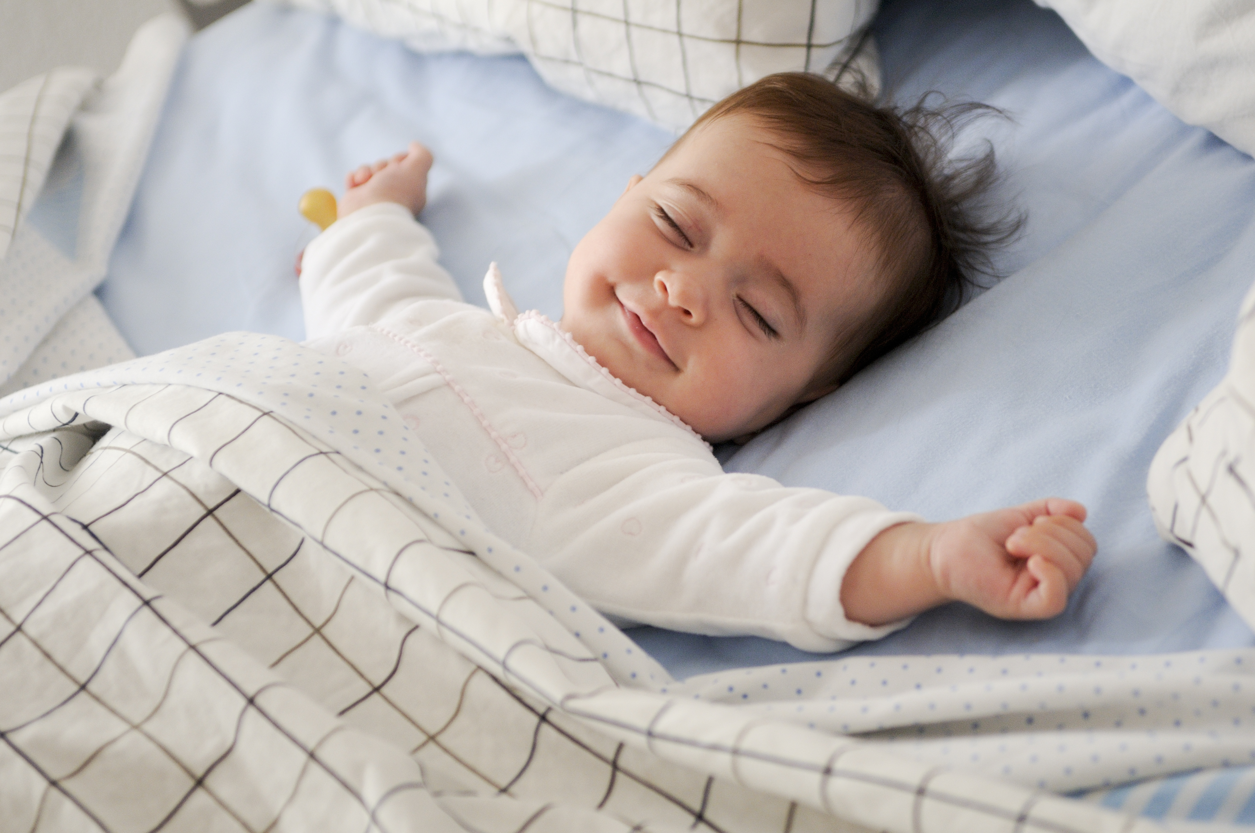 Giv din baby en god nats søvn med Sebra