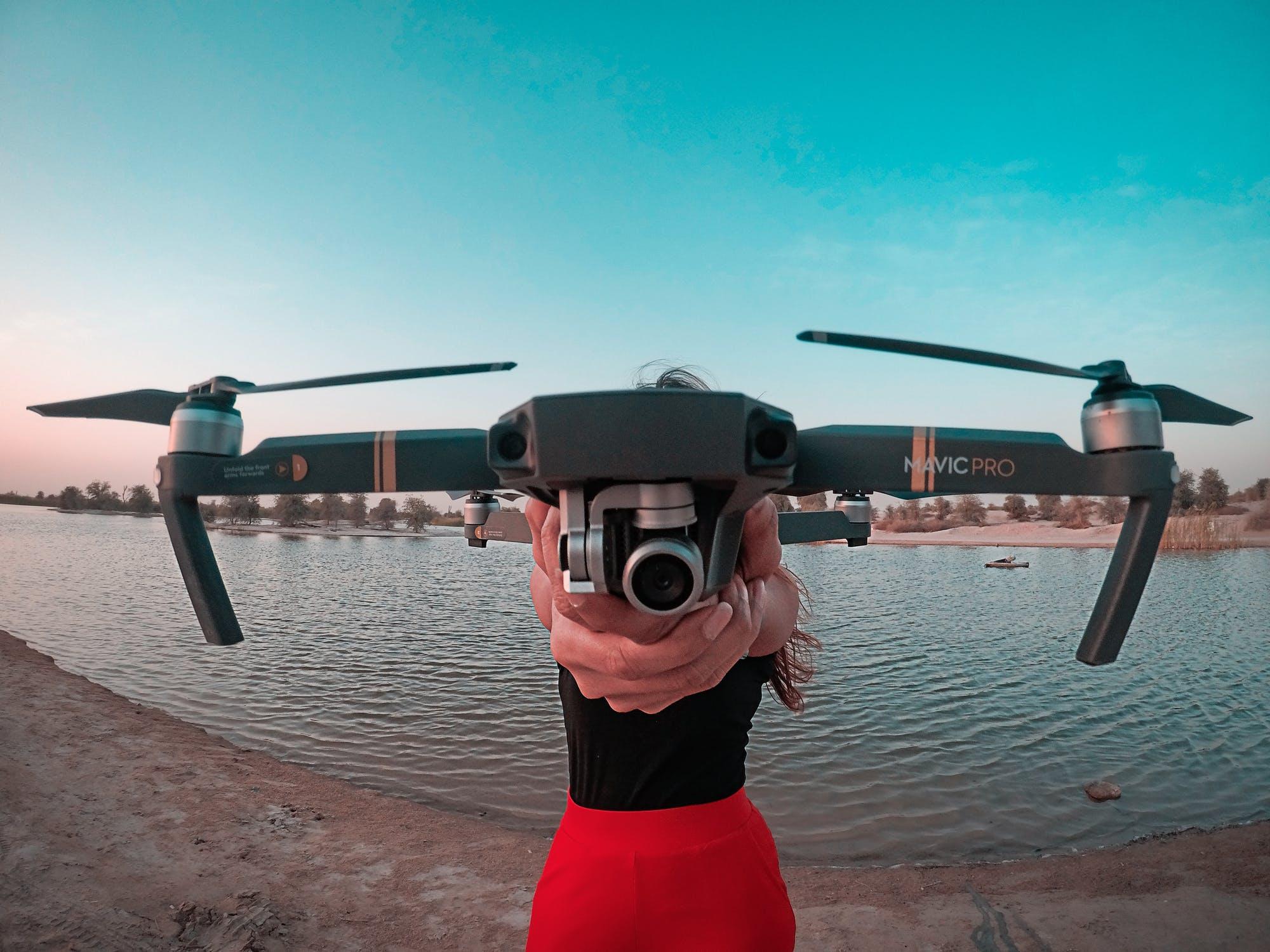 Tag de vildeste billeder med en drone med kamera