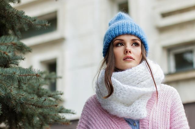 Tørklæder er vinterens accessorie
